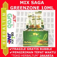 MIXSAGA 10ml - IZIN BPOM - Baik untuk Anak - Herbal Sariawan dan Batuk