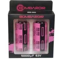 10000uf 63v bombardier pink harga per set