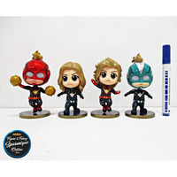 Action Figure Cosbaby Captain Marvel AndGame isi 4