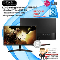LG Gaming Monitor 27MP59G Full HD IPS