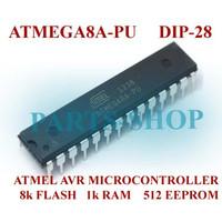 AVR MICROCONTROLLER ATMEGA8-16PU DIP 28