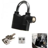 Gembok Alarm Motor Suara Anti Maling / Lock Siren
