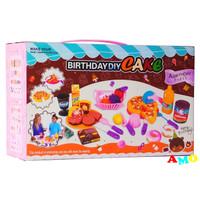BIRTHDAY PARTY CAKE HJ-6080- MAINAN KUE PIZZA