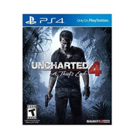 Uncharted 4: A Thief's End Reg 2 - PS4