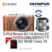 Olympus E-PL8 Kit 14-42mm EZ + 45mm F1.8