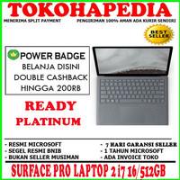 MS SURFACE PRO LAPTOP 2 i7 16/512GB PLATINUM
