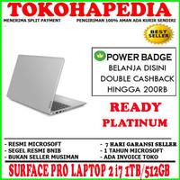 MS SURFACE PRO LAPTOP 2 i7 1TB/512GB PLATINUM