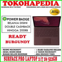 MS SURFACE PRO LAPTOP 2 i7 16/512GB BURGUNDY