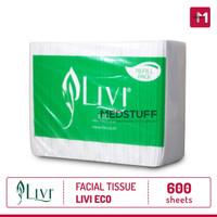 Harga tissue facial livi eco refill 600s tissu wajah tisu muka | antitipu.com