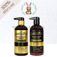 PURA D'OR D OR Advanced Therapy Shampoo Conditioner Volume Hair 473ML