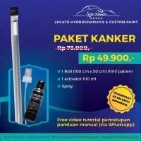 Water Printing & Activator PAKET KANKER