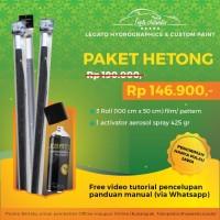 Water Printing & Activator PAKET HETONG
