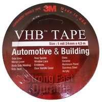 "3M VHB 24mm 1"" Double Tape Busa Paling Kuat Indoor Outdoor 4,5 meter"