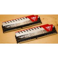 PATRIOT Viper Elite DDR4 2400MHz 1x8GB RAM Komputer PVE48G240C6GY