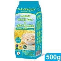HAVERMIX ROLLED OATS & BARLEY FLAKES 500G