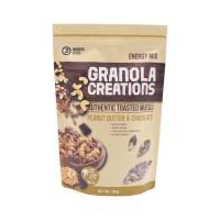 GRANOLA CREATIONS ENERGY PEANUT BUTTER & CHOCOLATE GRANOLA MAKANAN I