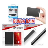 POWER BANK VIVAN MINI ATM VPB-H5 5000 mah / POWERBANK ORIGINAL VPBH5
