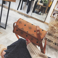 tas coklat kecil sling bag import selempang slempang wanita 20255