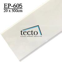 TECTO Plafon PVC EP-605 (20cm x 500cm)