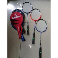 Raket Badminton Super Sport Plus Cover King Becket Khusus Grab/Gosend