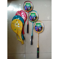 Raket Badminton Yunior Nano Power Plus Cover - YTY Khusus Gosent/Grab