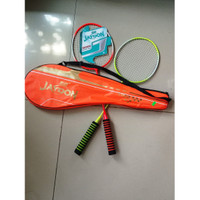 Raket Badminton Exercise 2 pcs Cover Full - Jaydon (Khusus Grab/Grab)