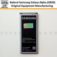 Baterai Samsung Galaxy Alpha G850 EB-BG850BBC Original OEM Batre Alpa