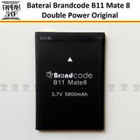Baterai Brandcode B11 Mate 8 Original Double Power Batre Batrai Ori