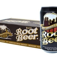 root beer 330ml / minuman kaleng root beer