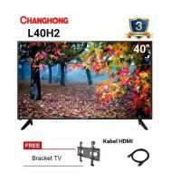 CHANGHONG LED TV 40 inch - L40H2 FULL HD NEW 2019