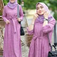 Baju Gamis Wanita Syari Muslim Safa Maxi Terbaru MURAH