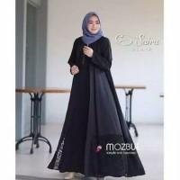 Baju Gamis Wanita Syari Maxi Saira Abaya Moscrepe Muslim Terbaru MURAH