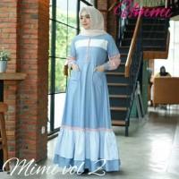 Baju Gamis Wanita Syari Maxi Mimi Dress Terbaru MURAH