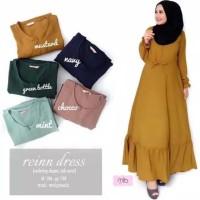 Baju Gamis Wanita Syari Maxi Rein Dress Terbaru MURAH