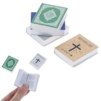 ( Promo ) Buku Alkitab Motif Salib Ukuran Mini Bahasa Spanyol untuk P