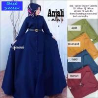 Harga jual gamis wanita muslimah katun import dress remaja premium | antitipu.com