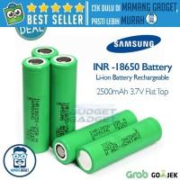 Samsung INR 18650-25R Li-ion Battery 2500mAh 3.7V with Flat Top