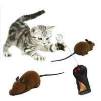 Mainan Kucing Tikus Elektronik Cat Toy Mouse Remote Control