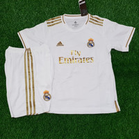 Jersey Kids Real Madrid Home 2019/2020 Grade ori Official