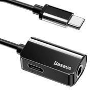 Baseus Adapter USB Type C to AUX 3.5mm Headphone + USB Type C - CATL40
