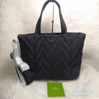KS ELLIE SMALL TOTE - BLACK