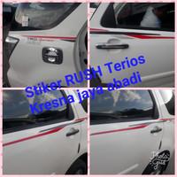 Stiker Rush Terios