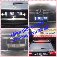 Mika Plat Nomor LED