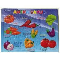 Puzzle / Puzle / Pazel Besar Aneka Sayur