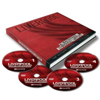 Liverpool A Backpass Through History Limited Edition Book and 4 DVD