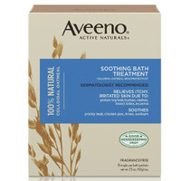 Aveeno Soothing Bath Treatment With Natural Colloidal Oatmeal 42gr