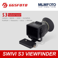 "SWIVI S3 FOLDABLE LCD VIEWFINDER FOR DSLR CAMERA 3INCH 3.2INCH 3"" 3.2"""