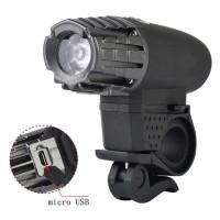Lampu Sepeda USB Rechargeable LED XPG - 2256