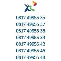 Kartu Perdana Axita Nomor Cantik XL Nomer Cantik Seri 9955