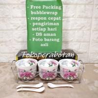 Tempat Bumbu Keramik Fiorenza 3pcs